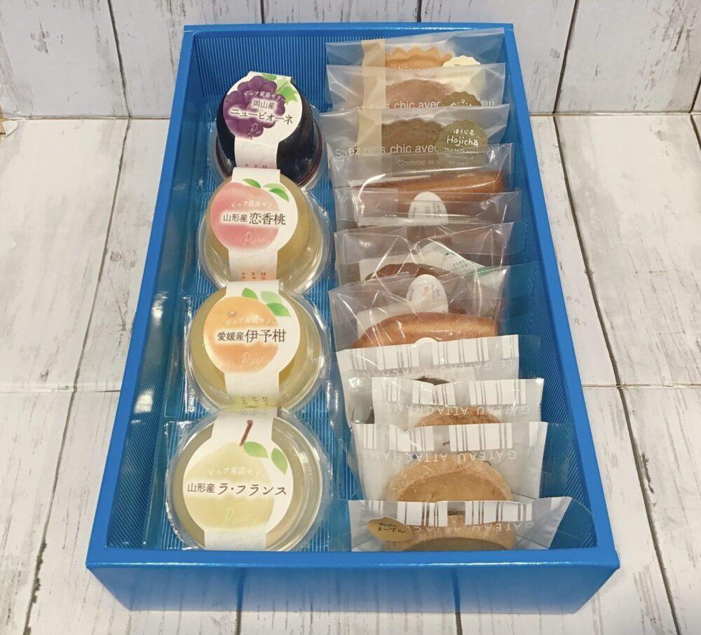 ピュア産直ゼリー&焼き菓子セット11個入れ